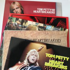 Tom Petty & The Heartbreakers - lot of 5 classic LPs from 1970s onwards