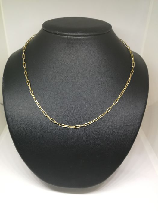 Chain of 18 kt (750) gold - 63.5 cm