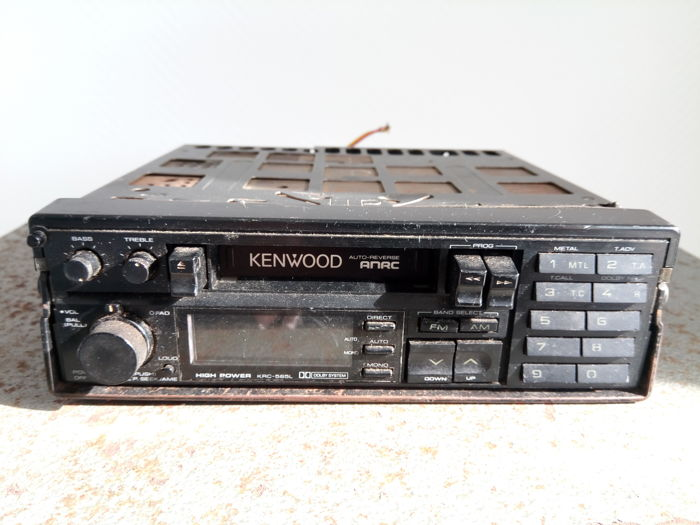 Lot 5 car radios Blaupunkt/Kenwood/Philips/Roadstar