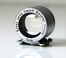 For sale: a Leitz push-on viewfinder