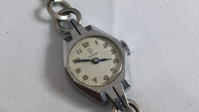 Tudor - rare lady epoca denninson case watch manualwinding - Dames - 1901-1949