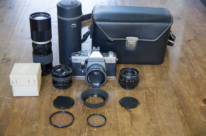 Praktica ltl3 m42 set 28 35 50 & 90 210mm catawiki