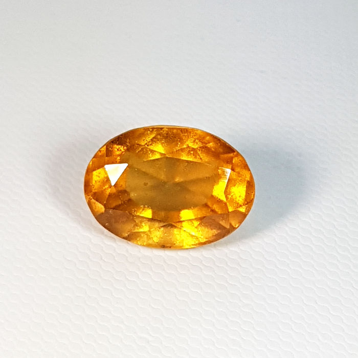 Hessonite Garnet  - 12.17 ct