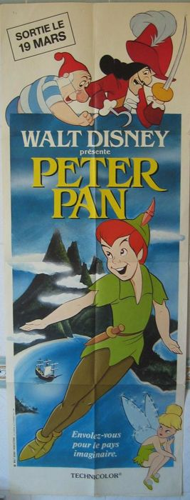 Peter Pan (Walt Disney, 1953) - 1972