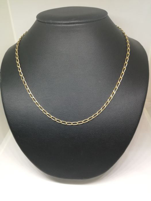 Chain of 18 kt (750) gold - 51 cm