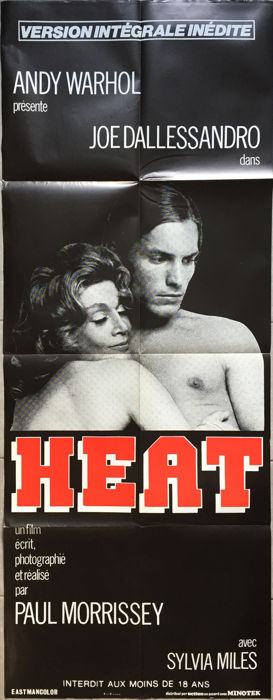 Anonymous - Heat (Paul Morrissey, Joe Dallessandro, Andy Warhol) - circa 1980