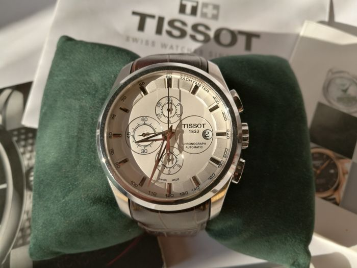Tissot - Couturier Chronographe - T0356271603100 - Heren - 2011-heden
