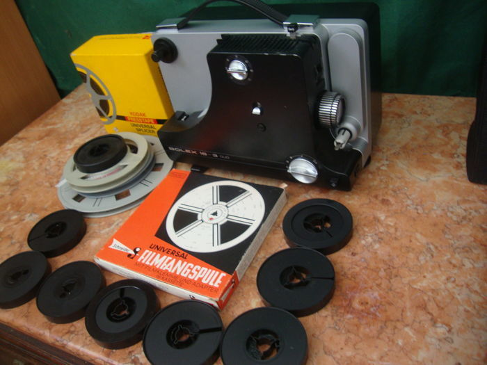 Super 8 mm Projector - Bolex 18-3 Duo
