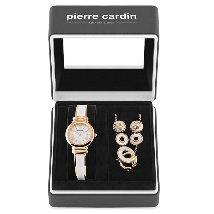 Pierre Cardin - lady's gift-set,watch and jewelry - Dames - 2011-heden