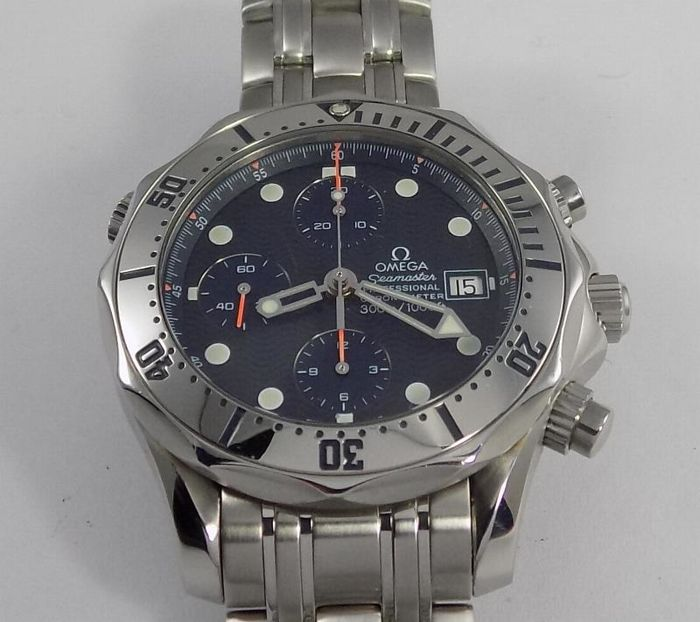 Omega - Seamaster Professional Chronograph - 2598.80 - Heren - 2000-2010