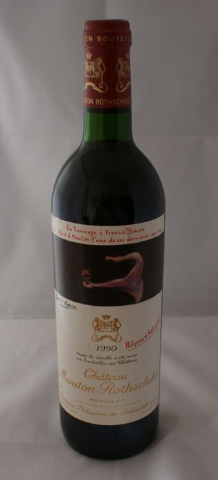 1990 Chateau Mouton Rothschild, 1er Grand Cru Classe - 1 bottle