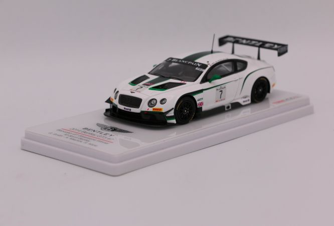 True Scale Miniatures - Schaal 1/43 - Bentley Continental GT3 - Winner Silverstone - 2014