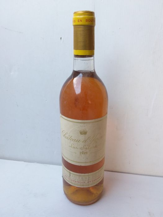 1989 Chateau  d'yquem, sauternes 1er grand cru classé – 1 bottle