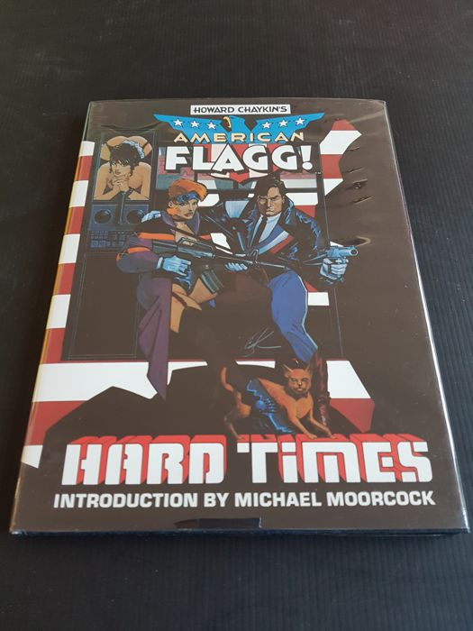 First Publishing - American Flagg: Hard Times - HC - Signed & Numbered Edition - 1985