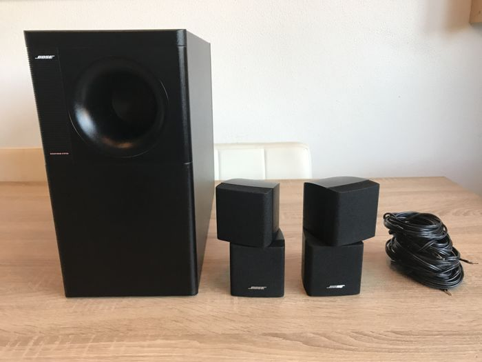 Zwarte Bose Acoustimass 5 series 3 Speaker set. mooie complete set