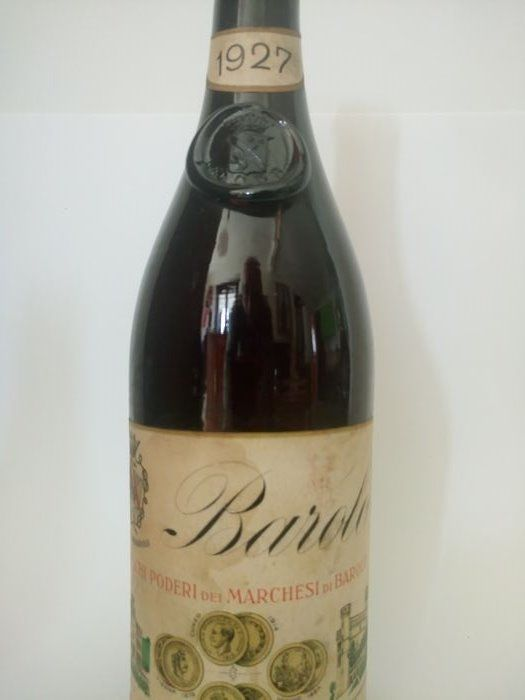 1927 Barolo Marchesi di Barolo - 1 bottle
