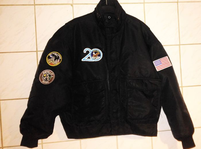SCHOTT Bros inc., vintage ASTRONAUT Flight Pilot Bomber JACKET, made in USA