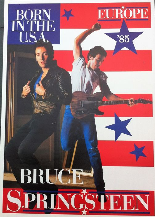 Bruce Springsteen - Born in the USA 9 Europe Tour) - 1985