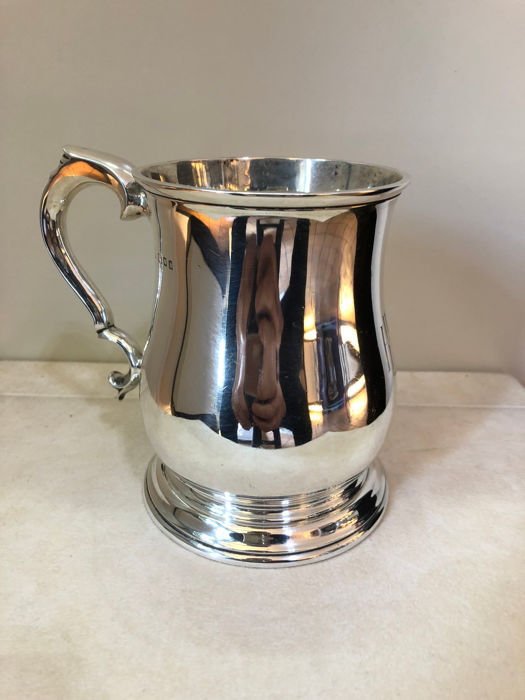 Silver Mug - C S Harris & Sons Ltd - London - 1926
