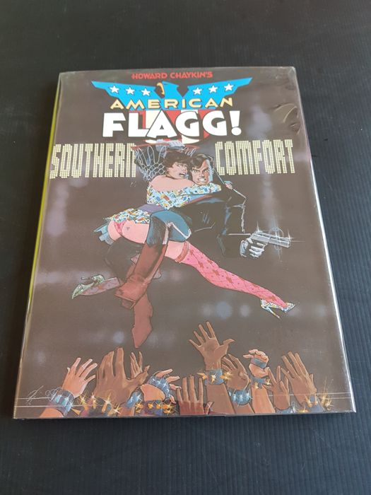 First Publishing - American Flagg: Southern Comfort - HC - Signed & Numbered Edition - 1987