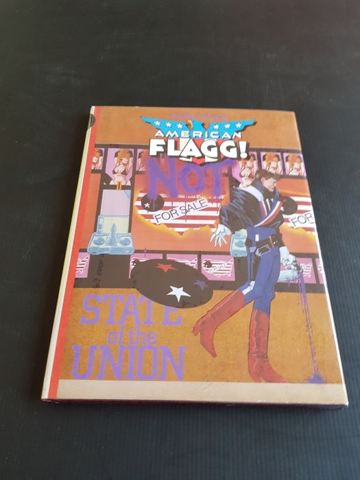 First Publishing - American Flagg: State ofof the Union - HC - Signed & Numbered Edition - 1989