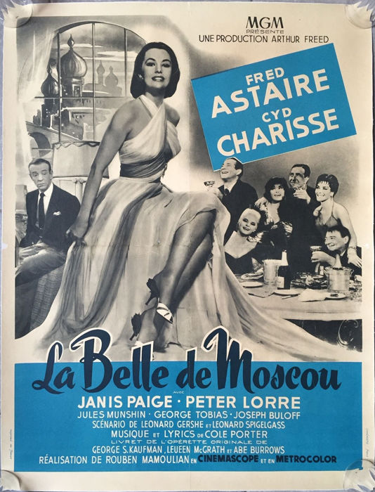 Anonymous - La Belle de Moscou / Silk stockings (Fred Astaire, Cyd Charisse) - 1957
