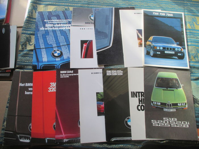 Brochures/ Catalogues - BMW - 1975-1992 (13 items)