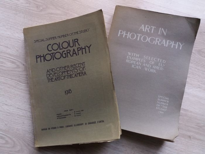 PICTORIALISME - Art in Photography &  Colour Photography - 1905/1908