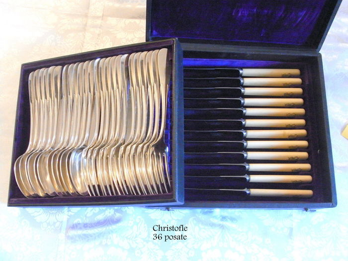 Christofle cutlery set - early 1900s