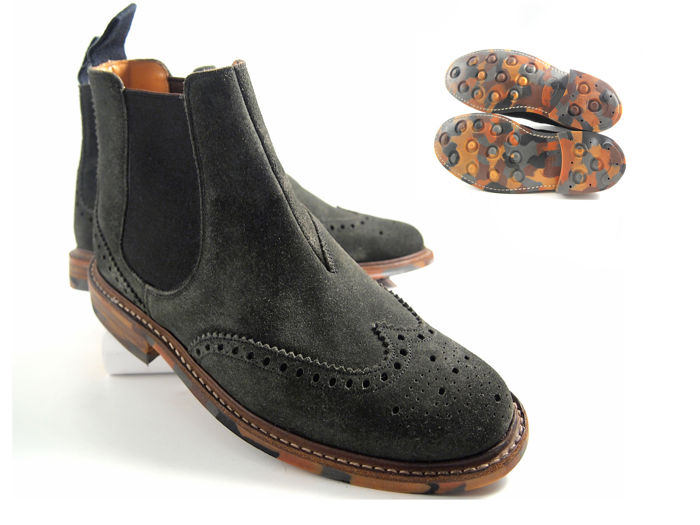 """Church - """"camouflage sole"""" Chelsea boots"""