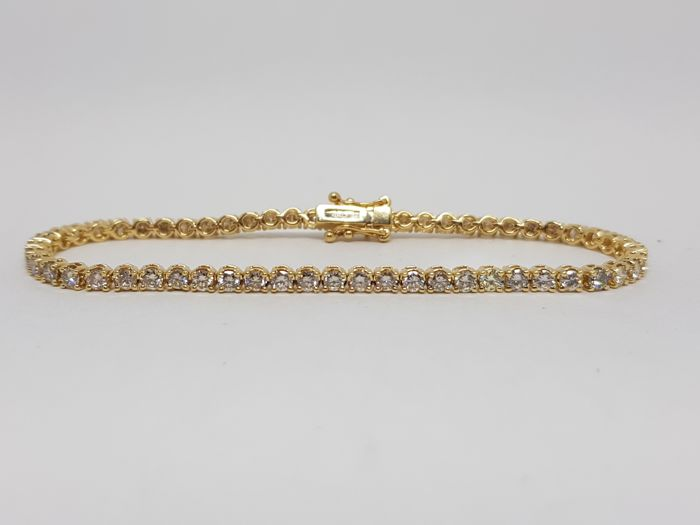 Diamond Tennis Bracelet 5,20ct.