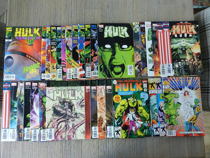 Hulk set with The Incredible Hulk vol.1. 18 issues, Hulk vol.2  29 issue, 3 Annuals and Rampaging Hulk and more - 66x sc (1992-2006)