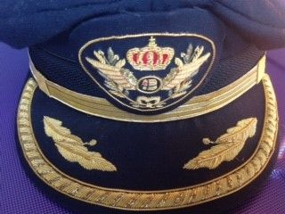 Aviation pilot hat