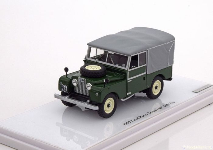 "True Scale Miniatures - Schaal 1/43 - Land Rover Series I  88"" Soft-Top 1957 -"