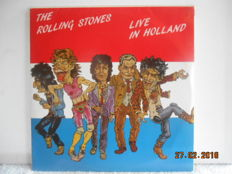 "Rolling Stones  2 Rare Lp Albums: ""Live in Holland"" and ""the early rolling stones  vol 1"""