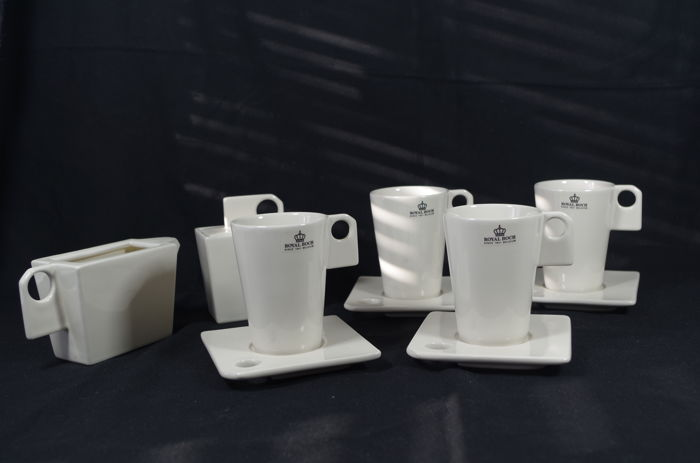 Marc Pairon voor Royal Boch - 11 delig design koffieservies