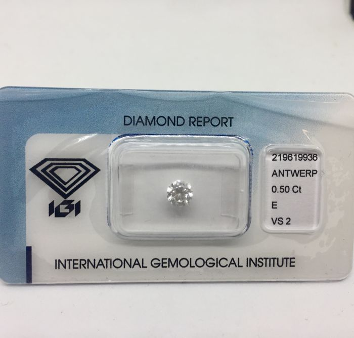 0.50 ct diamond, VS2