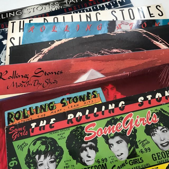 The Rolling Stones - lot of 8 LPs - Catawiki