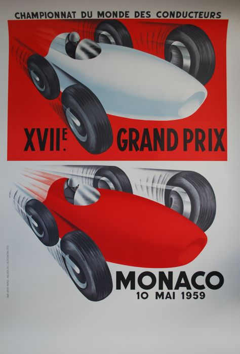 Decorative object - Grand Prix Monaco 1959 - 2002-2002 (1 items)