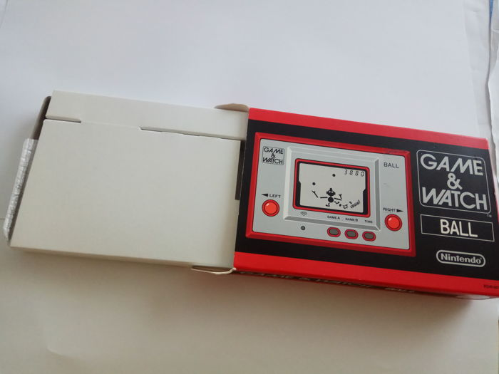 Nintendo Game & Watch Ball - Platinum Club Nintendo  Limited Edition re-release