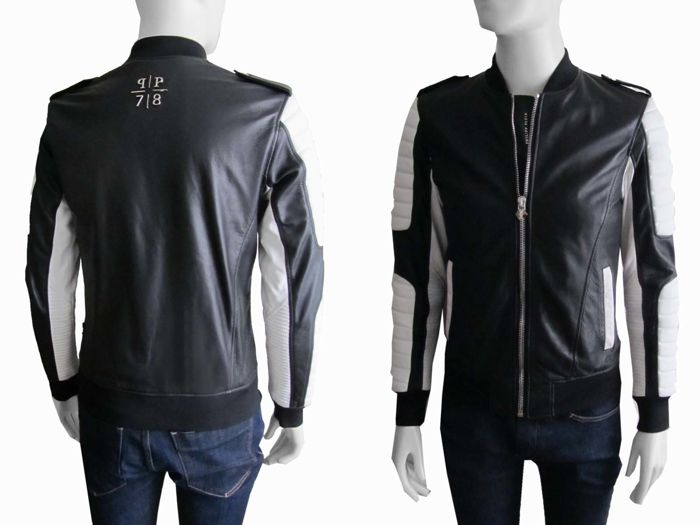 Philipp Plein - Limited edition - Lambleather Biker Jacket As new