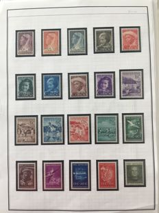 Curaçao and Netherlands Antilles 1948/2008 - Collection on album pages