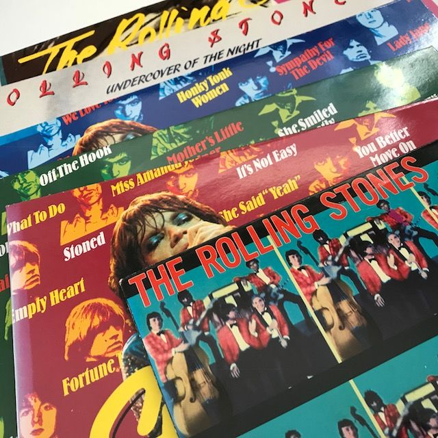 The Rolling Stones - lot of 6 records including Stones Story 1, 2 and 3 2LPs
