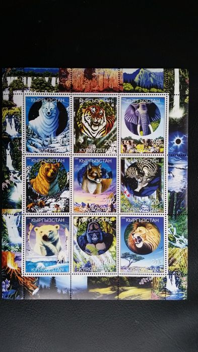 Thematics, African Fauna Collection - Monkeys, wild cats, elephants etc.
