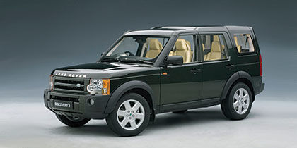 Autoart - Scale 1/18 - Land Rover Discovery 3 2005