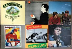 "Leo Kottke: lot of six lp's ""Greenhouse"" ""My feet are smilng"" ""Dreams and all that stuff"" ""Leo Kottke"" ""Burnt lips"" ""Best of 1971-1976"""