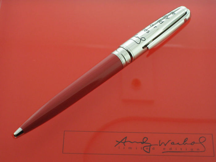 S.T. Dupont Andy Warhol Limited Edition Elvis Presley Pencil Pen,Limited Edition numbered 0242/1964, new