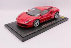 BBR - Scale 1/18 - Ferrari 488 GTB - Colour: Red - Limited Edition