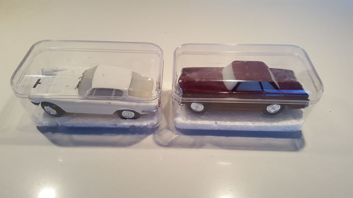 Stabocar slotcar - Scale 1/32 - Mercedes SL pagode and Maserati Mistral