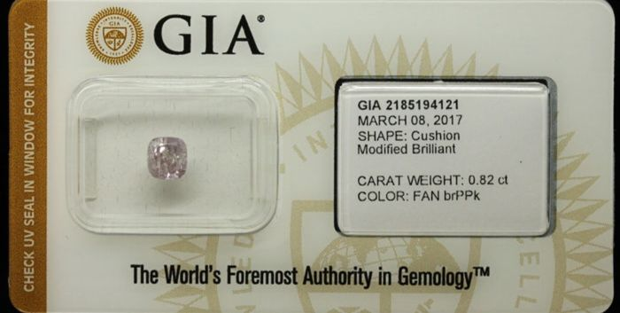 0.82 ct GIA Fancy Brownish Purple-Pink Diamond EXCLUSIVE (LOW RESERVE)